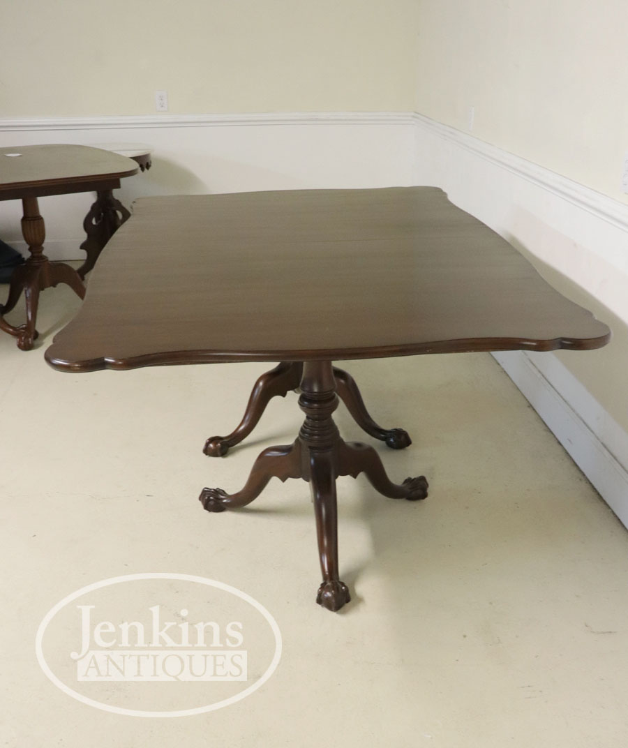 Henkel Harris Mahogany Dining Table Ball And Claw